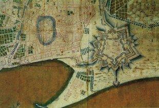 Plànol de la Ciutadellade 1762 després de la Guerra de Successió Foto: ELISABETH MAGRE / ALBERT SALAMÉ / ARXIU.
