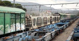 Trens a l'estació