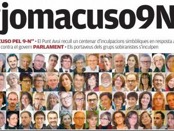 Detall de la portada d'El Punt Avui d'aquest divendres Foto:EL PUNT AVUI