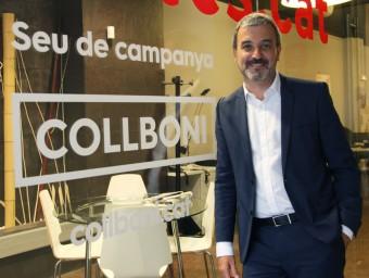 Jaume Collboni, candidat del PSC a Barcelona. Foto:Elisabeth Magre