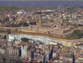 L'edició de Lleida del diari prestarà atenció a l'evolució de la ciutat i les terres de Lleida i el Pirineu i la seva vida social, política, econòmica i cultural. A la foto, Lleida i la fira de Tàrrega Foto:ARXIU