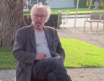 Jean-Luc Godard durant el rodatge d''Adiós al lenguaje' (2014). La Filmoteca recuperarà films poc coneguts seus Foto:VÉRTIGO