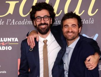 Sergi Pérez i Borja Espinosa, director i protagonista d''El camí més llarg per tornar a casa' Foto:JUANMA RAMOS