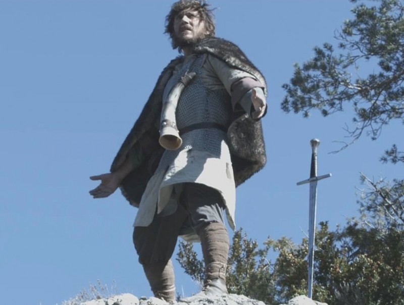 L'actor Miquel Sitjar, protagonista de 'Pàtria', en una de les escenes del fim Foto:DEJAVU FILMS