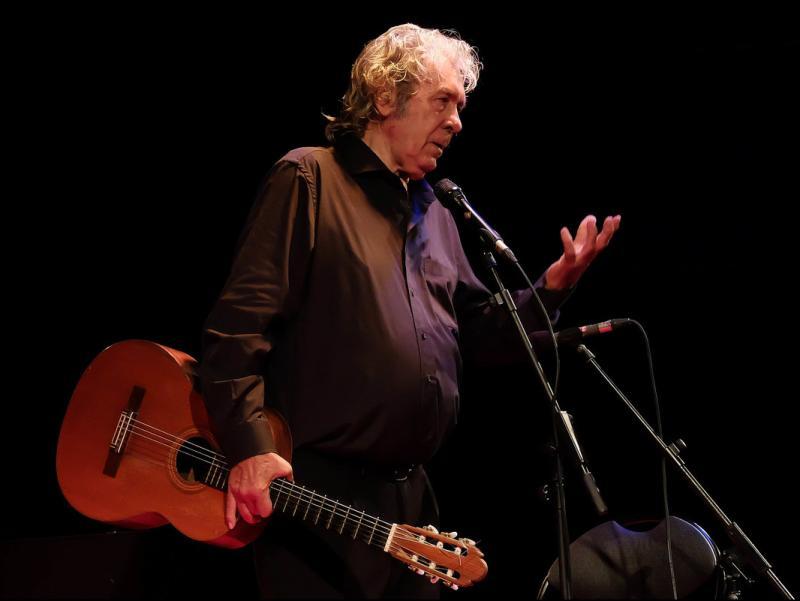 Imatge d'arxiu del concert de Paco Ibáñez al festival Aphònica Foto:LLUIS SERRAT