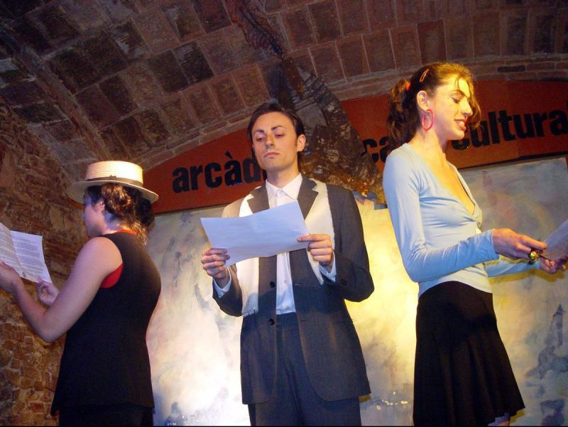 Teatre de petit format a Mataró, en una imatge d'arxiu Foto:LL.A