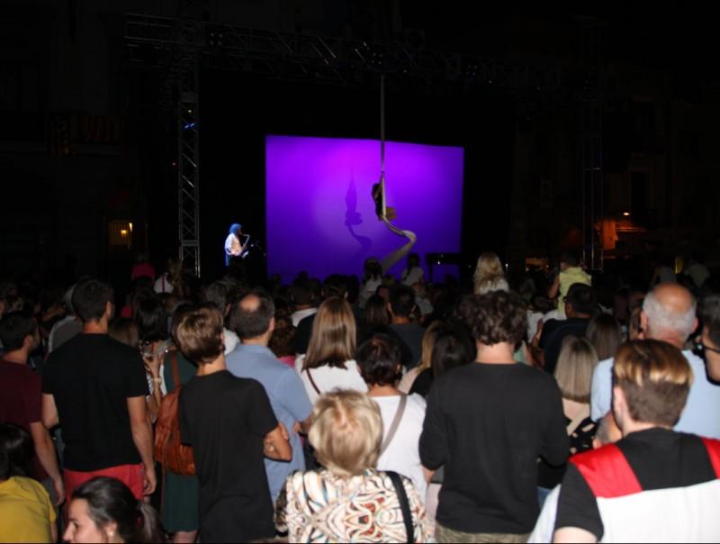 La música a la ciutat va ser la protagonista del pregó de Festa Major. Foto:ÒSCAR LÓPEZ